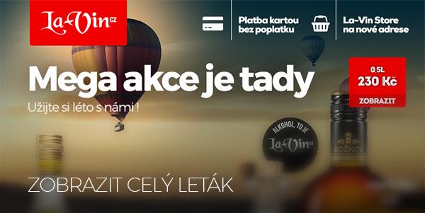Mega akce na červenec 2018 / La-Vin.cz