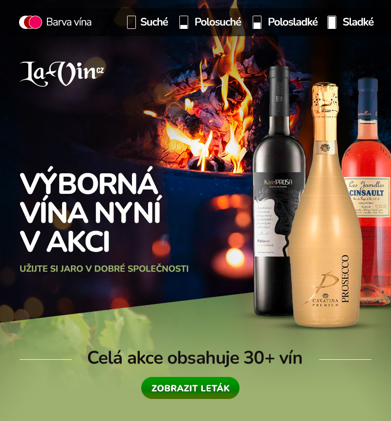 Akce na vína je tady! / La-Vin.cz