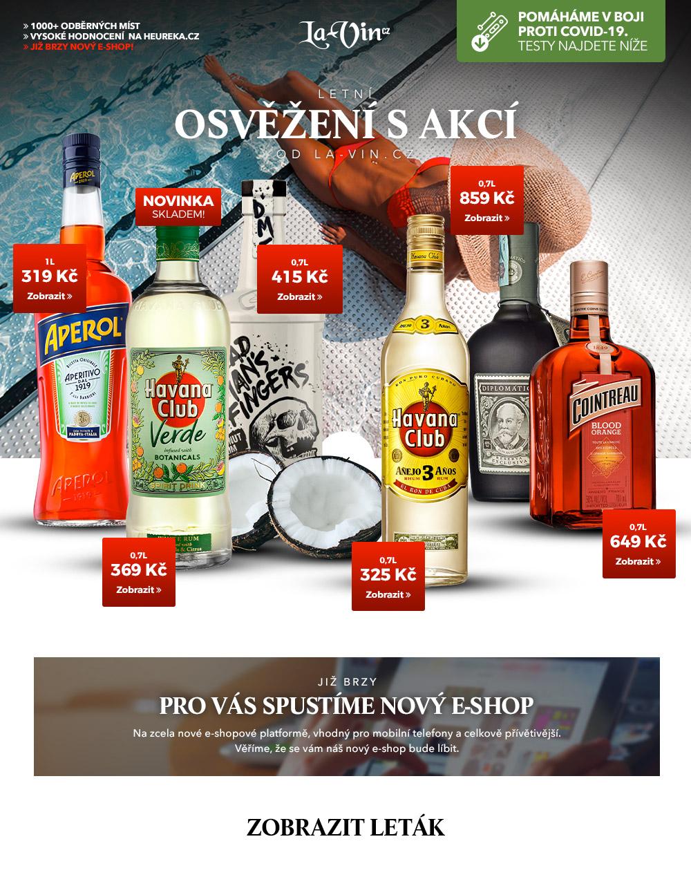 Mega akce na červen 2021 / La-Vin.cz