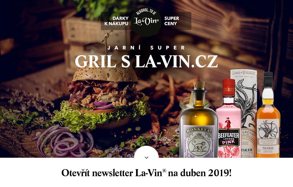 Mega akce na duben 2019 / La-Vin.cz