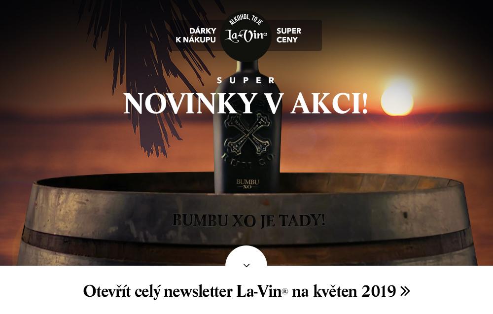 Mega akce na květen 2019 / La-Vin.cz