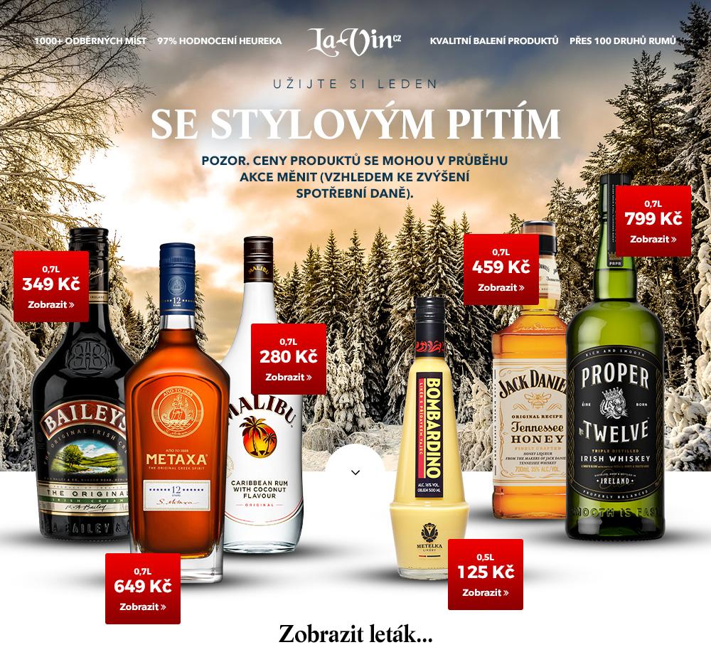 Mega akce na leden 2020 / La-Vin.cz