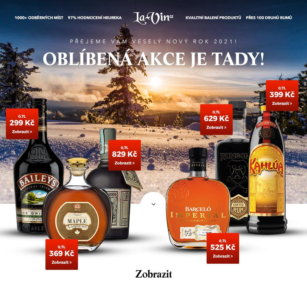 Mega akce na leden 2021 / La-Vin.cz