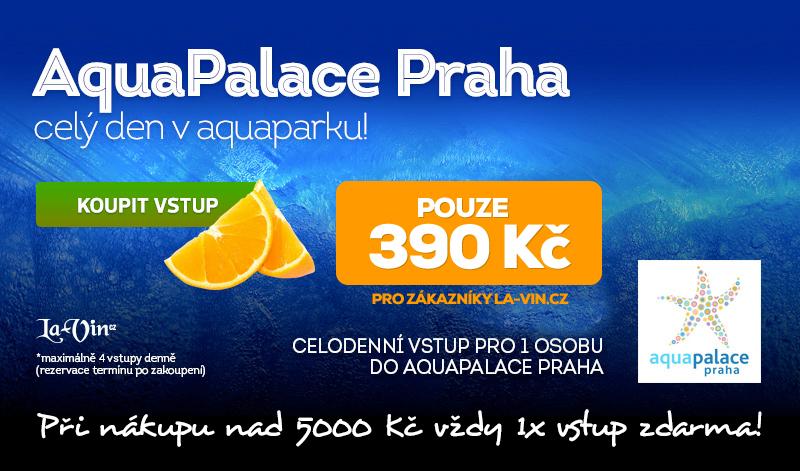 Vstup do AquaPalace ZDARMA nebo levně!