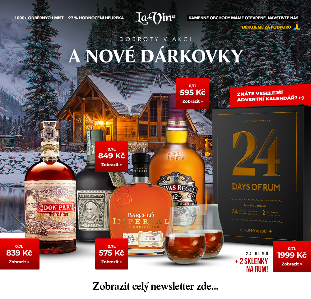 Mega akce na listopad 2020 / La-Vin.cz