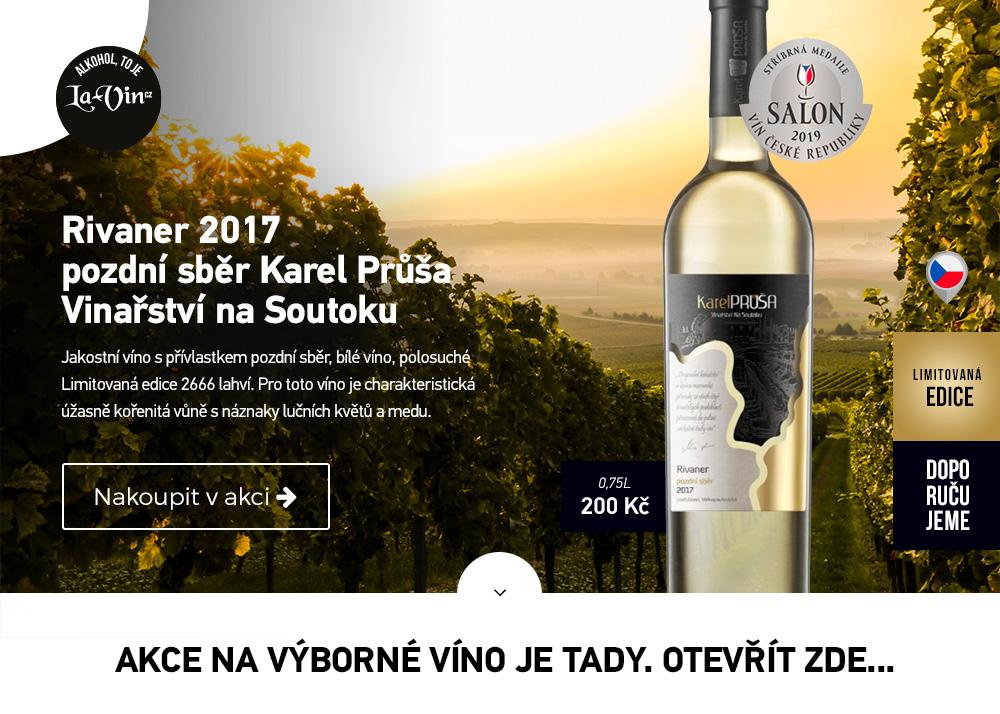 Mega akce na říjen 2019 - víno / La-Vin.cz