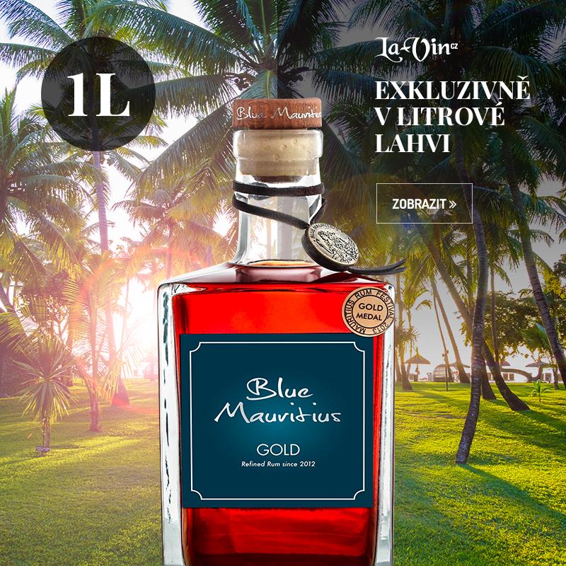 Rum Blue Mauritius Gold 1L