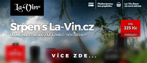 Mega akce na srpen 2018 / La-Vin.cz