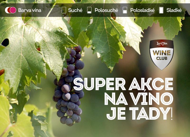 Mega akce na srpen 2020 víno / La-Vin.cz