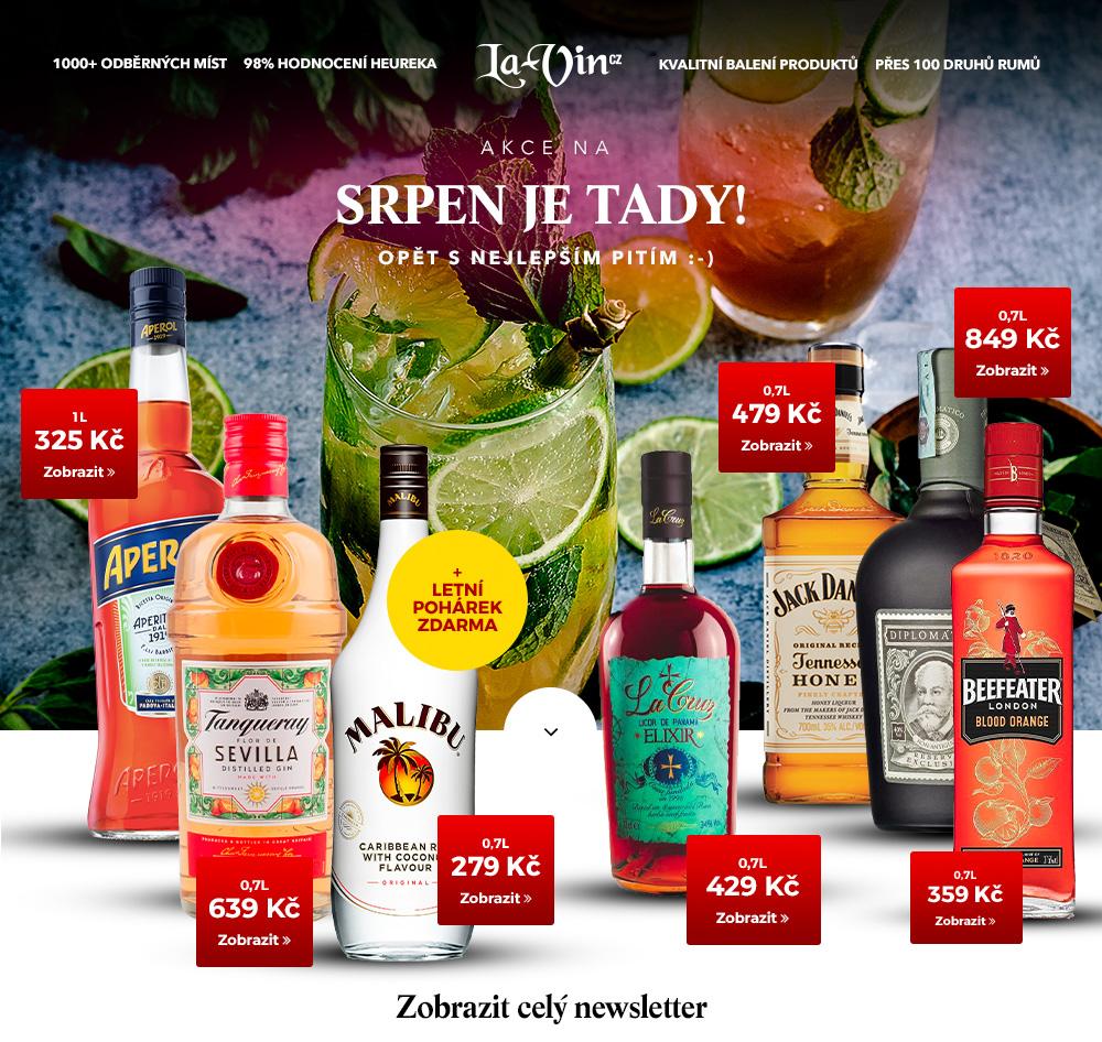 Mega akce na srpen 2020 / La-Vin.cz