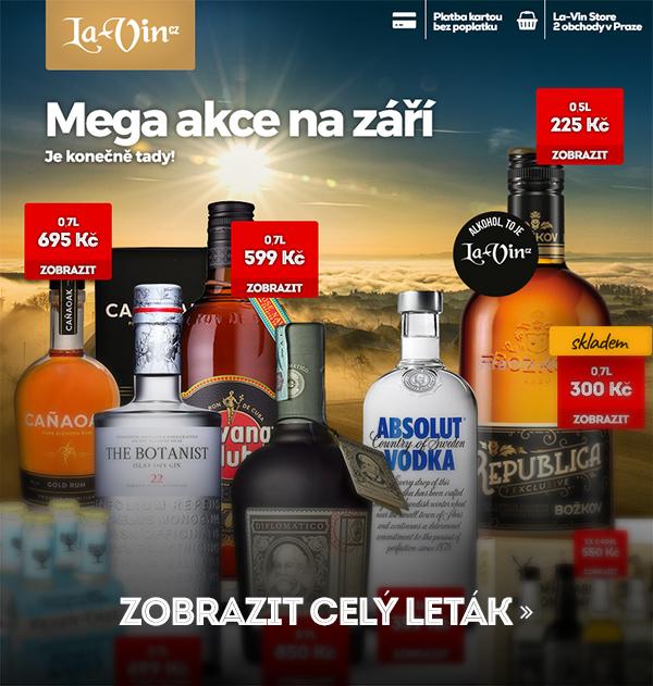 Mega akce na září 2018 / La-Vin.cz